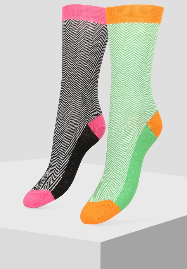 2 PACK - Socks - multi-coloured