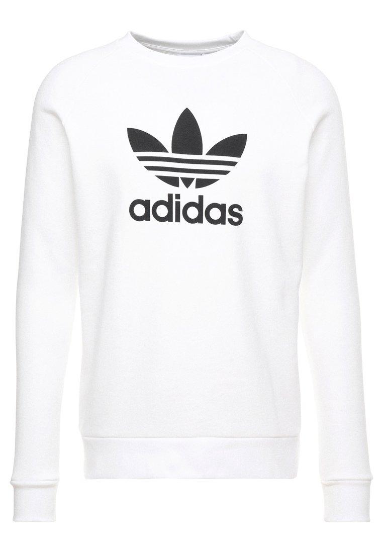 TREFOIL CREW UNISEX - Sweater - white