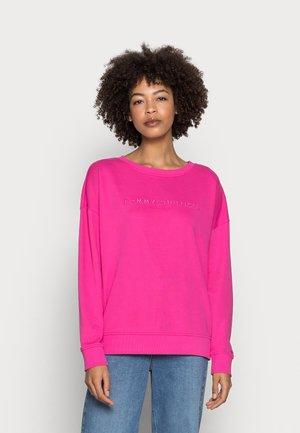 OVERSIZED TONAL OPEN - Sweatshirt - pink