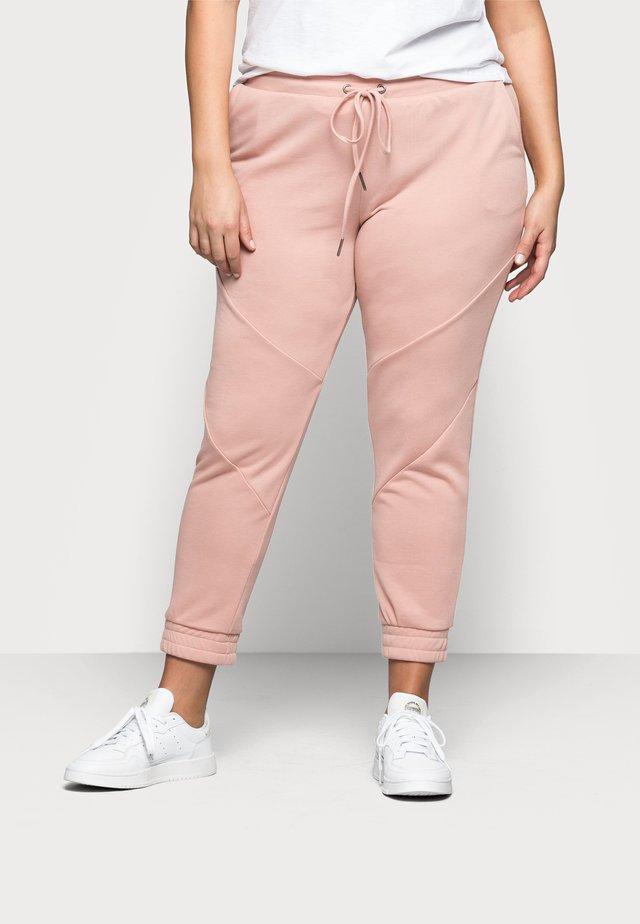 NMMISA PANTS - Verryttelyhousut - misty rose