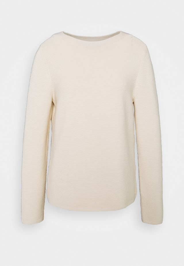 LONGSLEEVE STAND UP - Sweter - off white