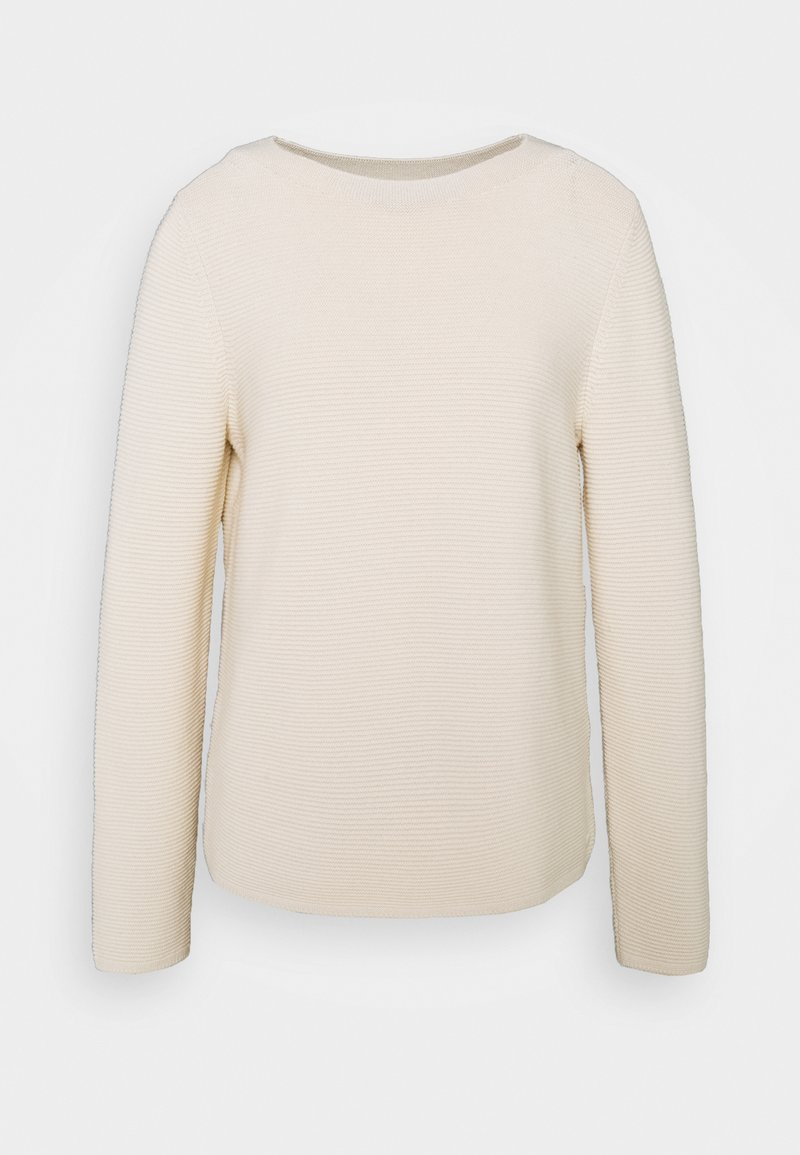 Marc O'Polo - LONGSLEEVE STAND UP - Jumper - off white