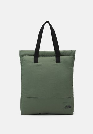 CITY VOYAGER TOTE UNISEX - Shoppingväska - agave green/black