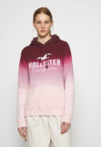 Hollister Co. - TECH CORE  - Mikina - red ombre - 0