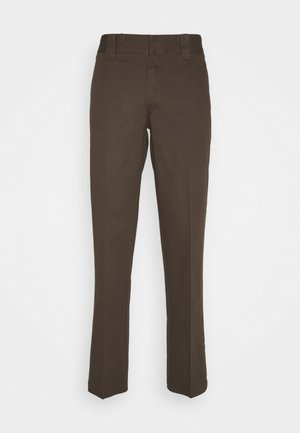 DOT WORKPANTS - Pantalon classique - chocolate