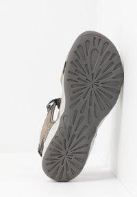 Hi-Tec - SILKY - Chodecké sandály - dark grey/blue - 4