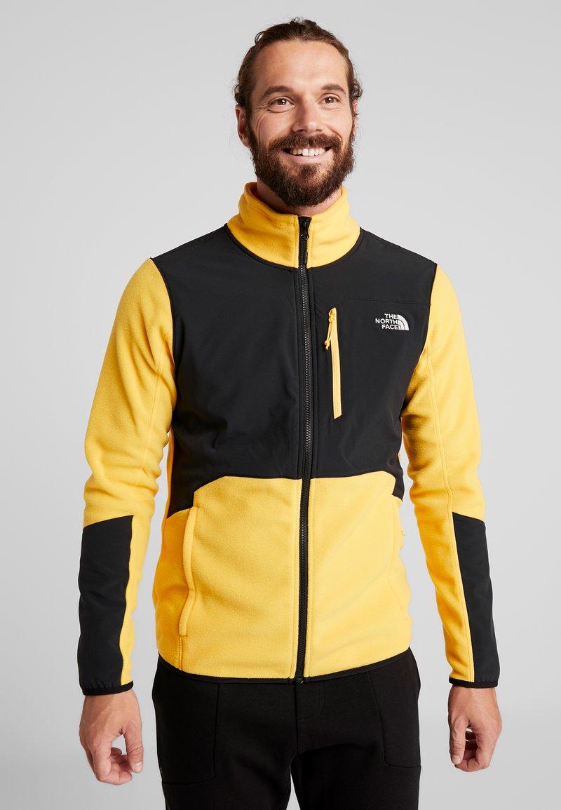 The North Face - GLACIER PRO FULL ZIP - Fleecejacke - yellow/black