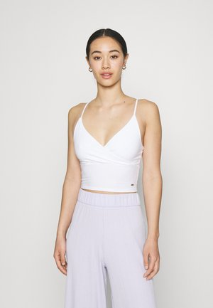 WRAP CAMI TRIFECTA - Top - white