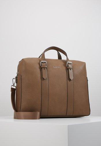 DAN BRIEFCASE - Briefcase - mud