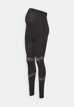 MLAMAJA ACTIVE TIGHTS - Leggings - black/leo pattern