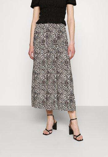 VMSIMPLY EASY SKIRT - Maxi skirt - birch/agnes