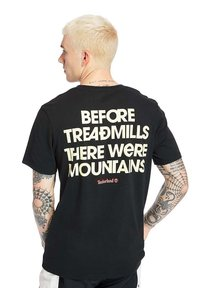 Timberland - OUTDOOR ARCHIVE GRAPHIC - Print T-shirt - black - 0