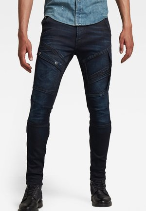 AIRBLAZE 3D SKINNY - Jeans Skinny Fit - worn in nightfall