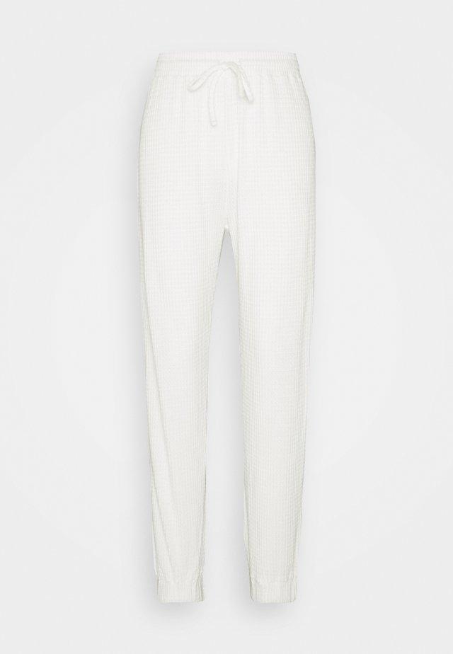 JOGGER - Spodnie od piżamy - white