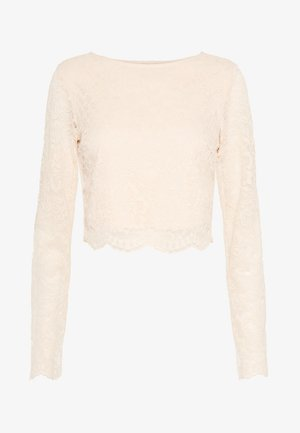 Long sleeved top - champagne