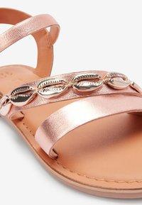 Next - Sandals - rose gold - 3