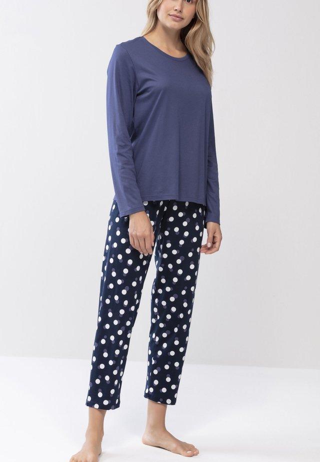 NACHTWÄSCHE SET SERIE YULE - Pyjama - night blue