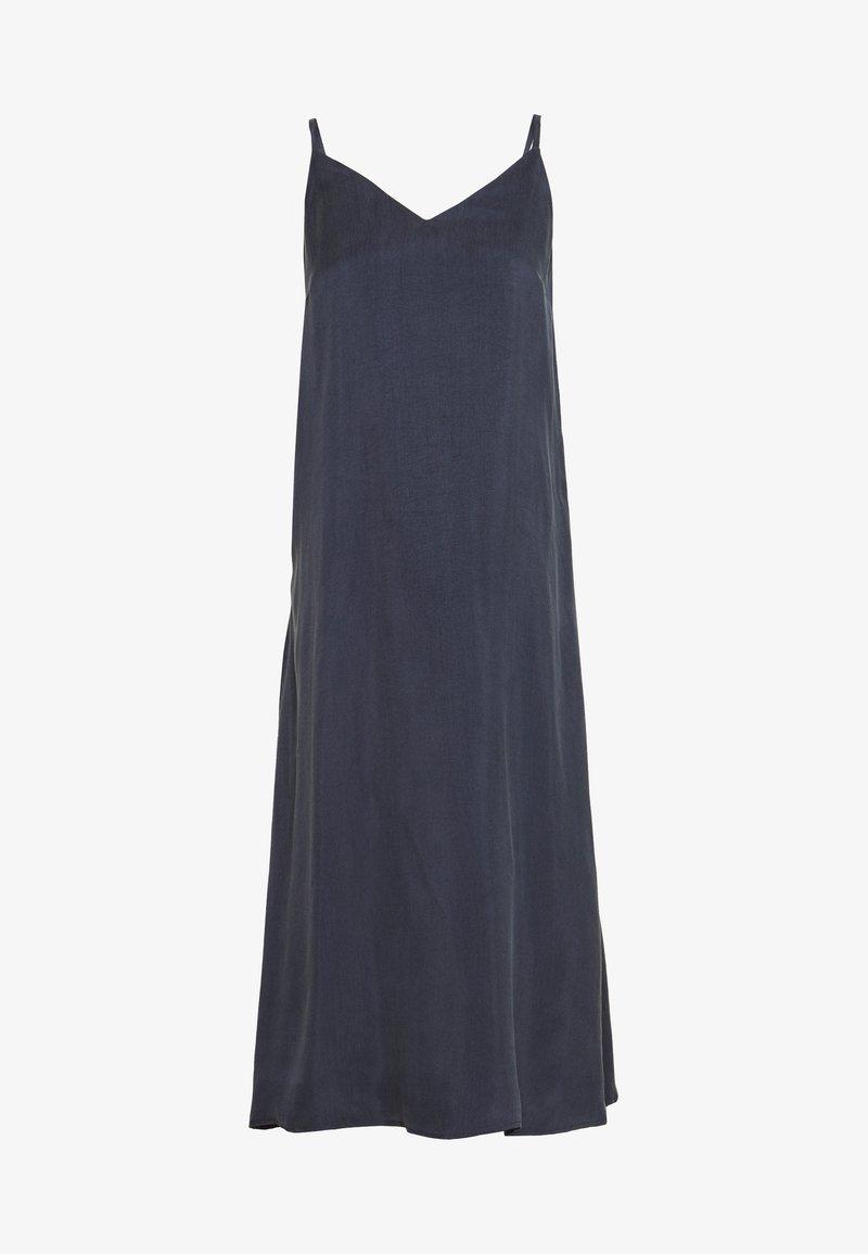Marc O'Polo - DRESS STRAP STYLE CLEAN SHAPE SIDE SLIT - Kjole - silent sea