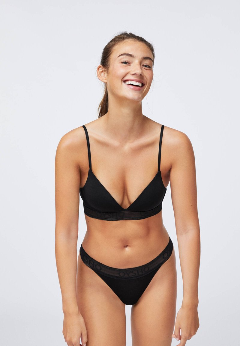 OYSHO - Triangel BH - black