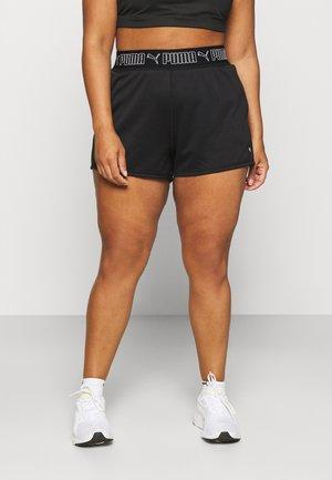 TRAIN ELASTIC SHORT PLUS - Sports shorts - black