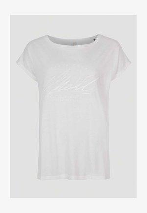 Jednoduché triko - powder white