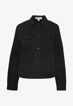 JACKET - Denim jacket - black