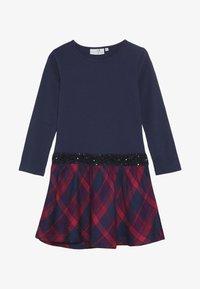 happy girls - TARTAN - Jerseyklänning - navy - 3