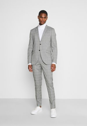 SLHSLIM KYLELOGAN - Suit - light gray