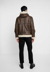 Schott - Leather jacket - brown - 2