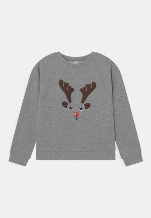 XMAS CHILLI  - Sweater - light grey melange
