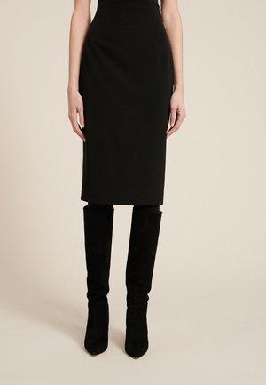 FRESH - Pencil skirt - nero