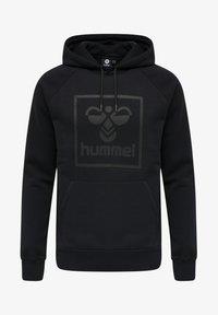 Hummel - HMLISAM - Luvtröja - black - 3