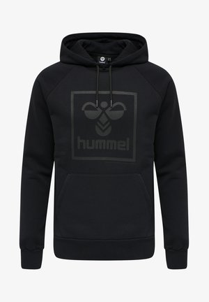 HMLISAM - Kapuzenpullover - black