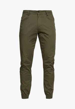 NAUTICAL TROUSERS - Kangashousut - green