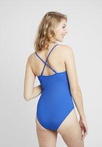 Monki - MALIN SWIMSUIT UNIQUE DROP - Swimsuit - blue - 4