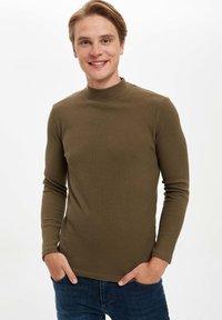 DeFacto - T-shirt à manches longues - khaki - 3
