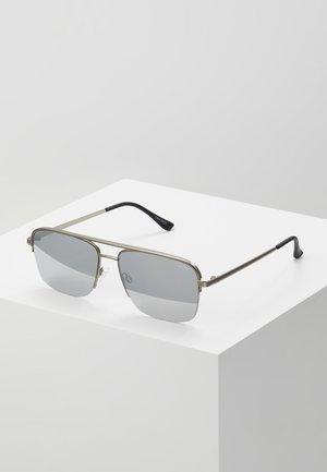 POSTER BOY RIMLESS - Okulary przeciwsłoneczne - gunmetal, grey