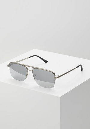POSTER BOY RIMLESS - Solglasögon - gunmetal, grey