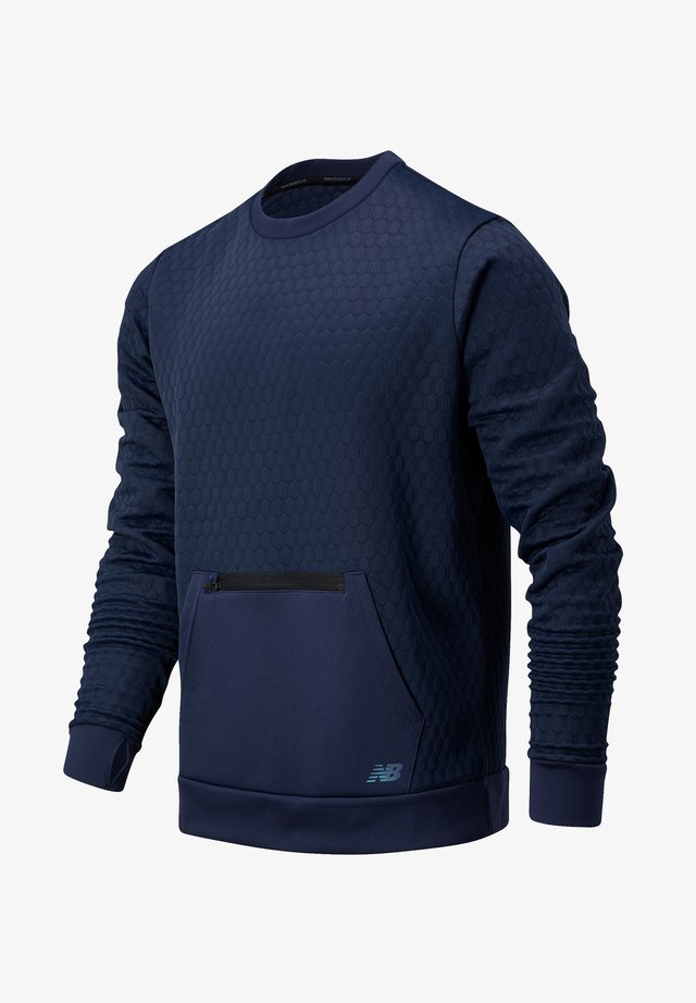 HEAT - Sweater - natural indigo