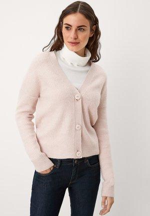 Cardigan - light pink melange
