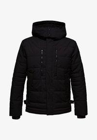 Esprit - MIT VARIABLER KAPUZE - Winter jacket - black - 7