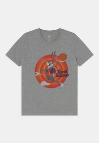 Outerstuff - SPACE JAM TUNE SQUAD NAME & NUMBER TEE BUGS BUNNY UNISEX - Print T-shirt - grey - 0