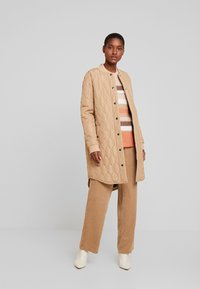 Kaffe - SHALLY QUILTED - Winter coat - tannin - 1