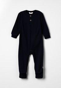 Joha - JUMPSUIT 2IN1 FOOT BABY - Pijama de bebé - navy - 0