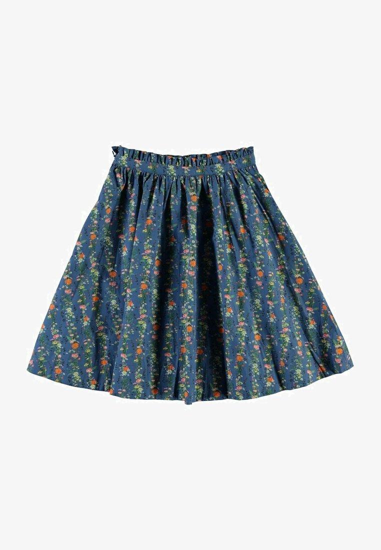 Molo - BRISANI - A-line skirt - vertical flora mini