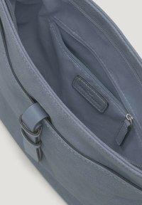 TOM TAILOR - Across body bag - mid blue - 2