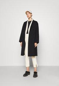 Theory - BELT COAT LUXE - Classic coat - black - 1