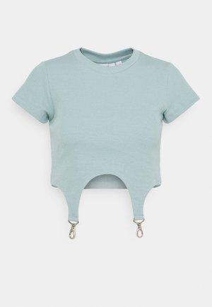 CLONE - T-shirts med print - blue