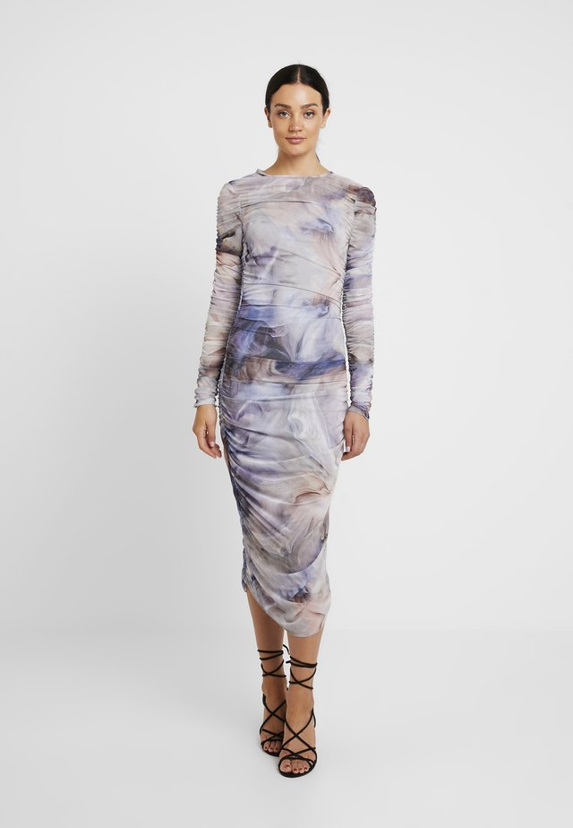 THAIS DRESS - Maxi dress - oyster