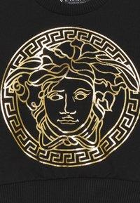 Versace - MEDUSA PRINT WITH GREEK UNISEX - Sweatshirt - black/gold - 2